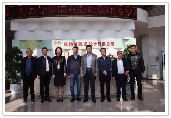 爱猪精选 | 赤壁市委副书记莅临双胞胎交流60万头生猪养殖产业链项目