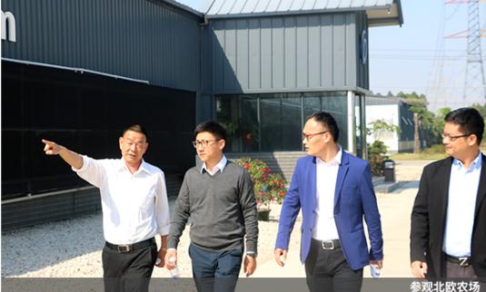 网易味央CEO一行人造访广东德兴,深入探讨智能化养殖