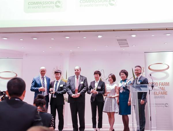 """""""动物福利""""成为商业发展新趋势,27家中国企业获CIWF福利养殖奖"""